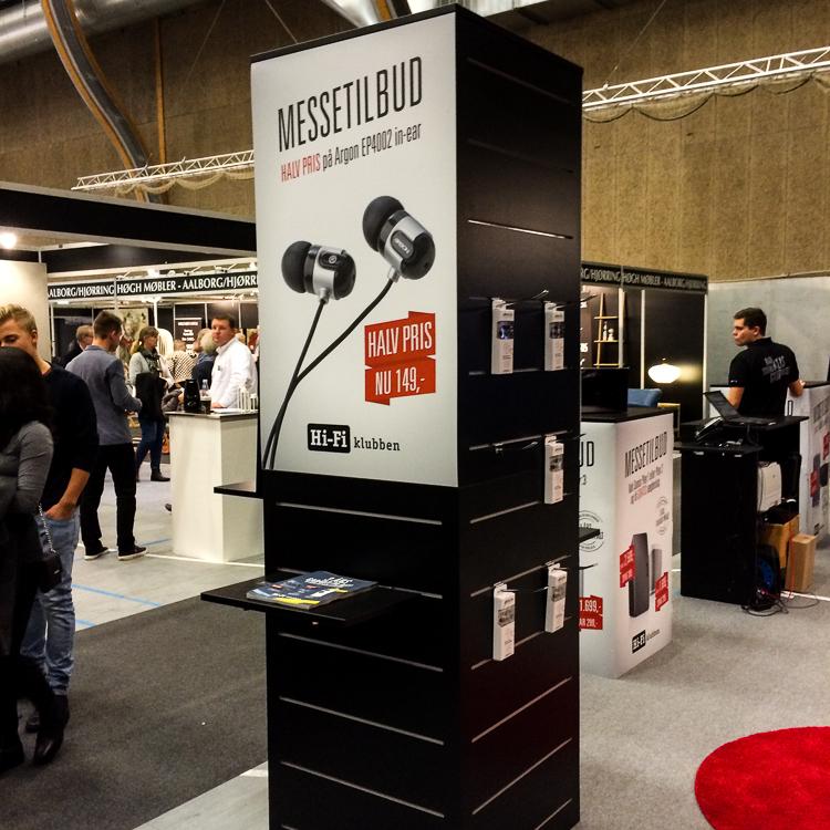 Hi-Fi Klubbens udstillingsstand